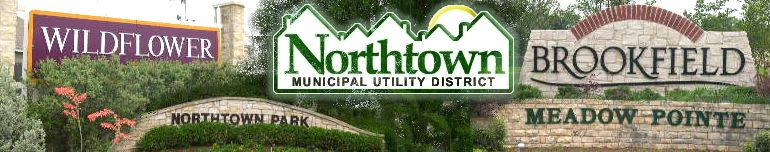 Northtown Municipal Utility District photo montage header